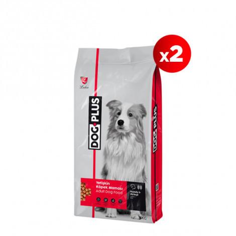 DogPlus Kuzu Etli Pirinçli Yetişkin Köpek Maması 3 Kg x 2 Adet