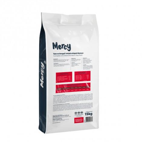 Mercy Biftekli Yetişkin Köpek Maması 15 Kg + 3 Adet DogPlus Kuzu Etli Köpek Konservesi