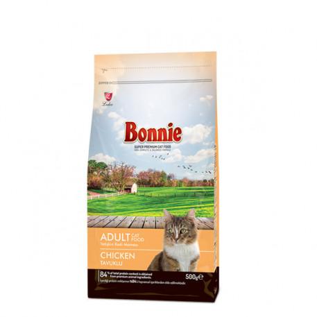 Bonnie Tavuklu Yetişkin Kedi Maması 0,5 Kg