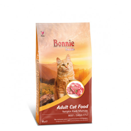 Bonnie Dana Etli Yetişkin Kedi Maması 10 Kg