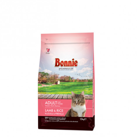 Bonnie Kuzu Etli Prinçli Yetişkin Kedi Maması 1.5 Kg
