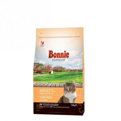 Bonnie Tavuklu Yetişkin Kedi Maması 1,5 Kg