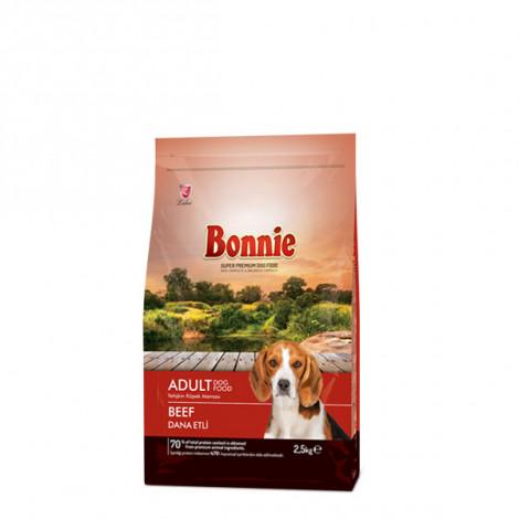 Bonnie Biftekli Yetişkin Köpek Maması 2,5 Kg