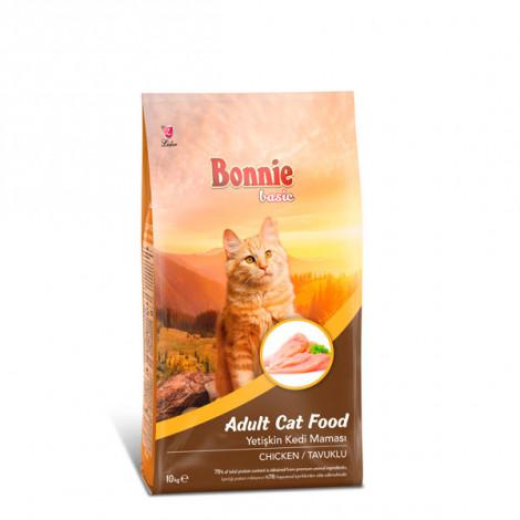Bonnie Tavuklu Yetişkin Kedi Maması 10 Kg