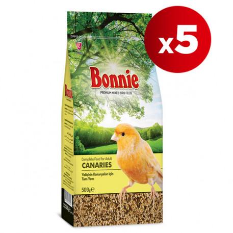 Bonnie Kanarya Yemi 500 Gr x 5