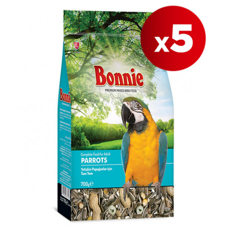 Bonnie Papağan Yemi 500 Gr x 5