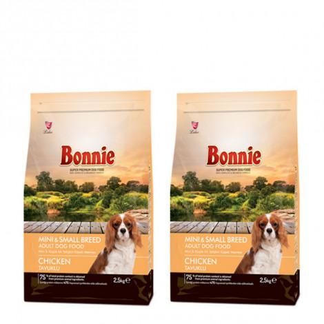 Bonnie Mini Küçük Irk Yetişkin Köpek Maması 2.5 Kg x 2