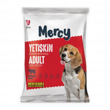 Mercy Biftekli Yetişkin Köpek Maması 100 Gr