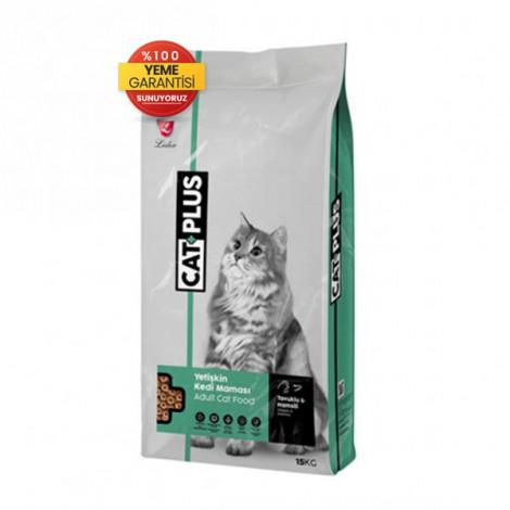CatPlus Tavuklu Hamsili Yetişkin Kedi Maması 15 Kg