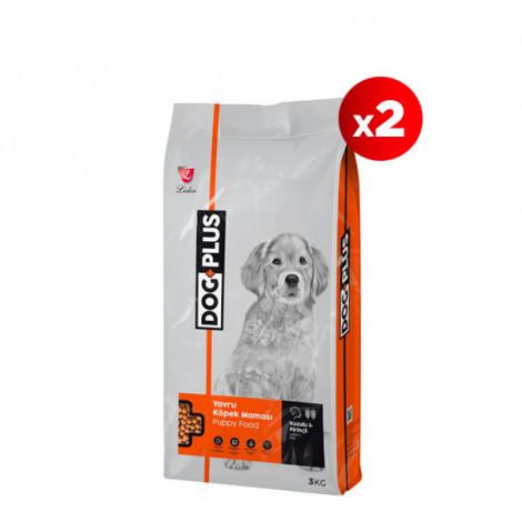 DogPlus Kuzu Etli Pirinçli Yavru Köpek Maması 3 Kg x 2 Adet