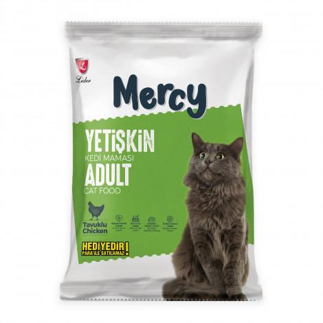 Mercy Tavuklu Yetişkin Kedi Maması 100 Gr