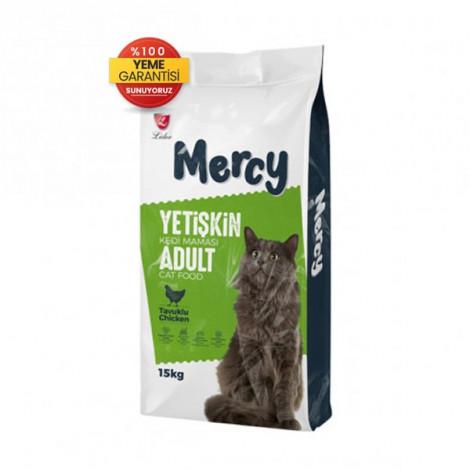 Mercy Tavuklu Yetişkin Kedi Maması 15 Kg