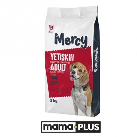 Mercy Biftekli Yetişkin Köpek Maması 3 Kg